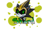 Shard The Metal Sonic Character Badge(Free to use) by DragonCartoons