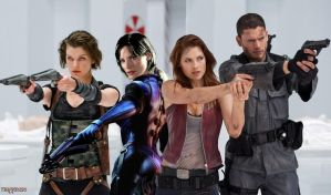 Resident evil Afterlife 4 by BRANDONMILLA