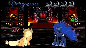 Pony Kombat Tournament Round 3, Battle 3 (Result) by Mr-Kennedy92