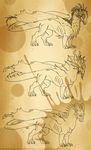 Fornblood Quadruped Dragons by Grimhoof