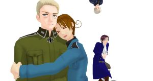 .:MMD:. I Has Teh Germans X3 by SaziSkylion