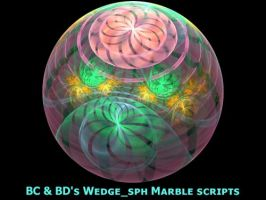 BC + BDs Wedge Sph Marble by Fractal-Resources