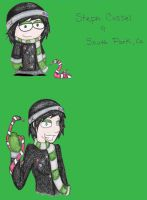 South Park style Steph 8D by BloodThirstyZompire