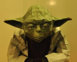 yoda closeup by minidelirium