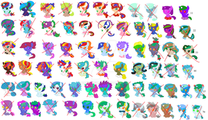 Left Over Breedable Babies (CLOSED) by PaintSet