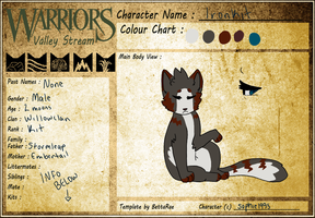 .Ironkit of Willowclan. by SophSouffle