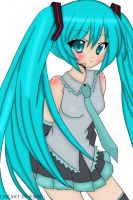 Miku-chan by Tobi-good-boy-lover