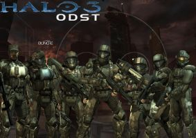 Halo 3: ODST Wallpaper by Minime637