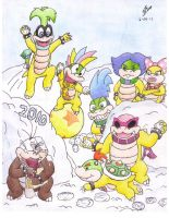 .:C.E:. Koopa Winter Wonderland 2010 - 2013 REDUX by CharmanDrigo