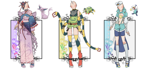 PokeFashion :Desiree-U: Batch#3 by KhymerrahApplebi