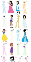 Disney Girls Cosplay Collab - My Part by Mileymouse101
