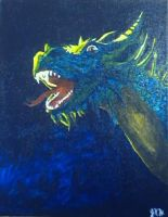 first painting ever  dragon by Hirui