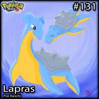 131. Lapras by MeloettasCafe