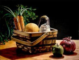 Basket Still-Life by egoodwinart