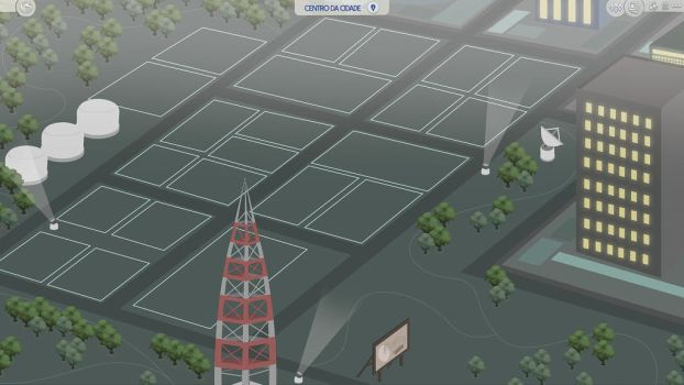 (Sims 4 Fanmade Map) Downtown (Sims 2) by filipesims