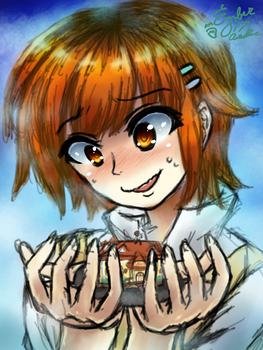 Mahiru Inami - [Quick Drawing] by EmBeRNaGa