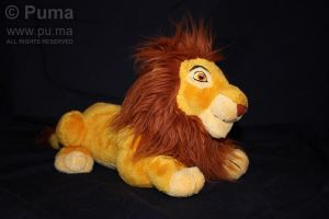 Mufasa plush from DisneyWorld by dapumakat