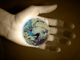 Hand That Holds The World by ziongurl