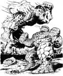 THING VS HULK by BROKENHILL