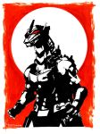 Mechagodzilla Crimson Eclipse by Tom Kelly by TomKellyART