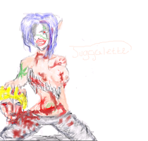 Juggalette Sketchie by WanderingMercenary