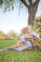 Under the tree : lineage II by chidori-sagara