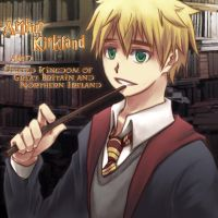 APH? Arthur in Harry Potter by KoujiT