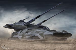 Anti-Mag Main Battle Tank by Kestrel01