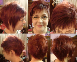 cut and dye for Mum by VanillaBlitz