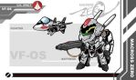 Macross Zero SD VF-OS by the-tracer