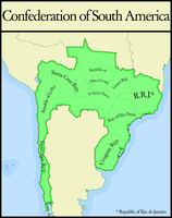 Confederation of South America by IntrepidTee