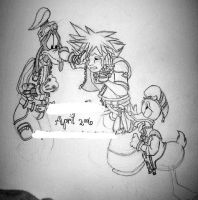 -:KH2:- Our main heroes by neoreflection