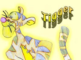 Tigger by CandyQween