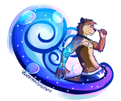 (W)otter magic by Vent-Kazemaru
