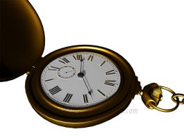 Pocket Watch by Nightmare-Lust