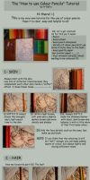 Using Colour Pencils -TUTORIAL by A-Xofia