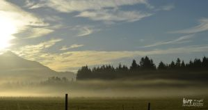 Sunrise Mount Pilchuck 2012 Fog by RoadKillConcepts