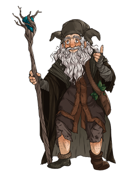 Radagast [Massive Middle Earth Collab] by FrogMakesArt