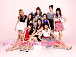 SNSD SPAO Wallpaper by pandarellaaa