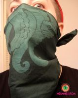 DEEP SEA tentacle bandanna by missmonster