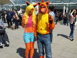 Crash Bandicoot Cosplay by Zammyy