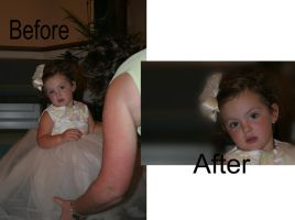 Wedding .Before and After. 3 by JenniferSpriggs