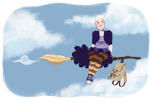 Witchsona by scribblywobbly