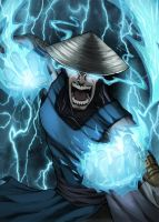 Raiden (Mortal Kombat) by RecklessHero