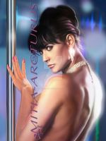 Demi Moore Glamour by Mitia-Arcturus