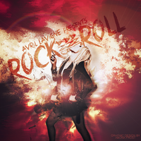 Rock and Roll: Avril Lavigne by abonafrost