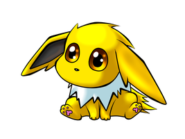 Jolteon by Kyrogeki