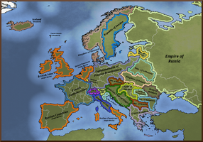 Europe - Anglo-Iberia by Neethis