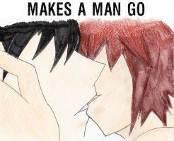 MAKES A MAN GO by Pikana-Chuster