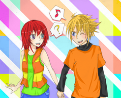 AT w/ mo0on3 by digidestined4eva